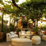 Prijemné prostredie pod viničom